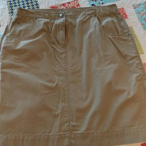 Woolrich knee length skirt size 10
